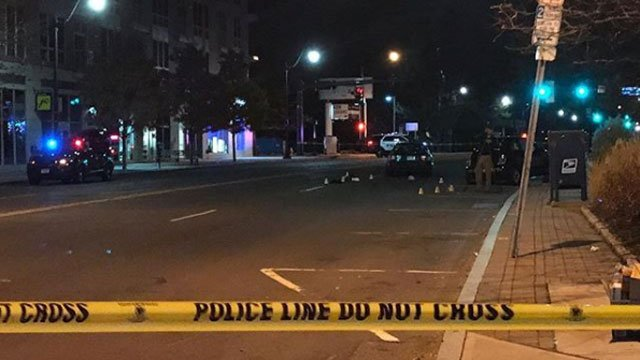 Two pedestrians were hit by a car in Norwalk on Wednesday morning. (Norwalk Police Department)