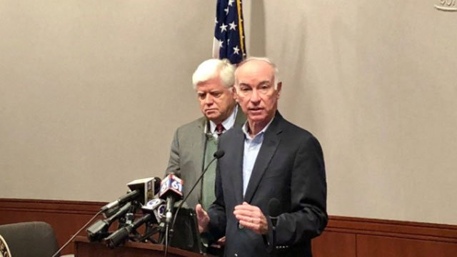 Congressmen John B. Larson and Joe Courtney announce the approval of federal tax relief for homeowners facing crumbling foundations.  (@RepJoeCourtney)
