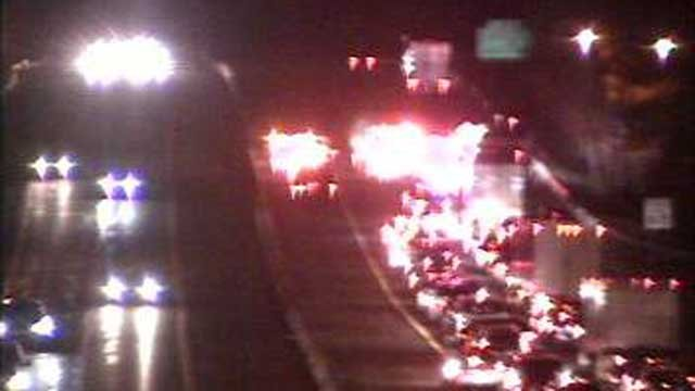 A crash has closed part of I-95 south in Branford (CT DOT)