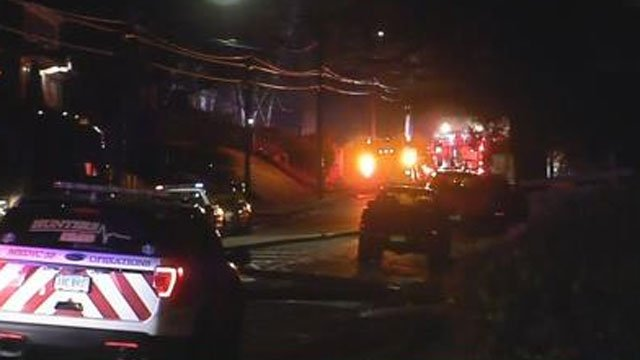Fire crews in Meriden are on the scene of a fire on 146 Carpenter Avenue. (WFSB)