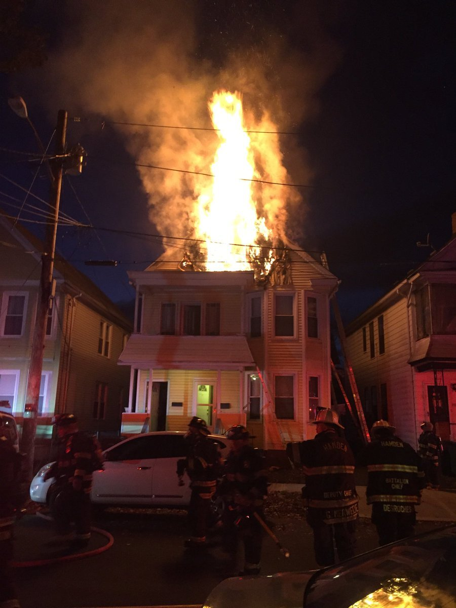 (Hamden Fire Department)
