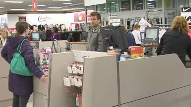 People were out shopping on Black Friday. (WFSB)