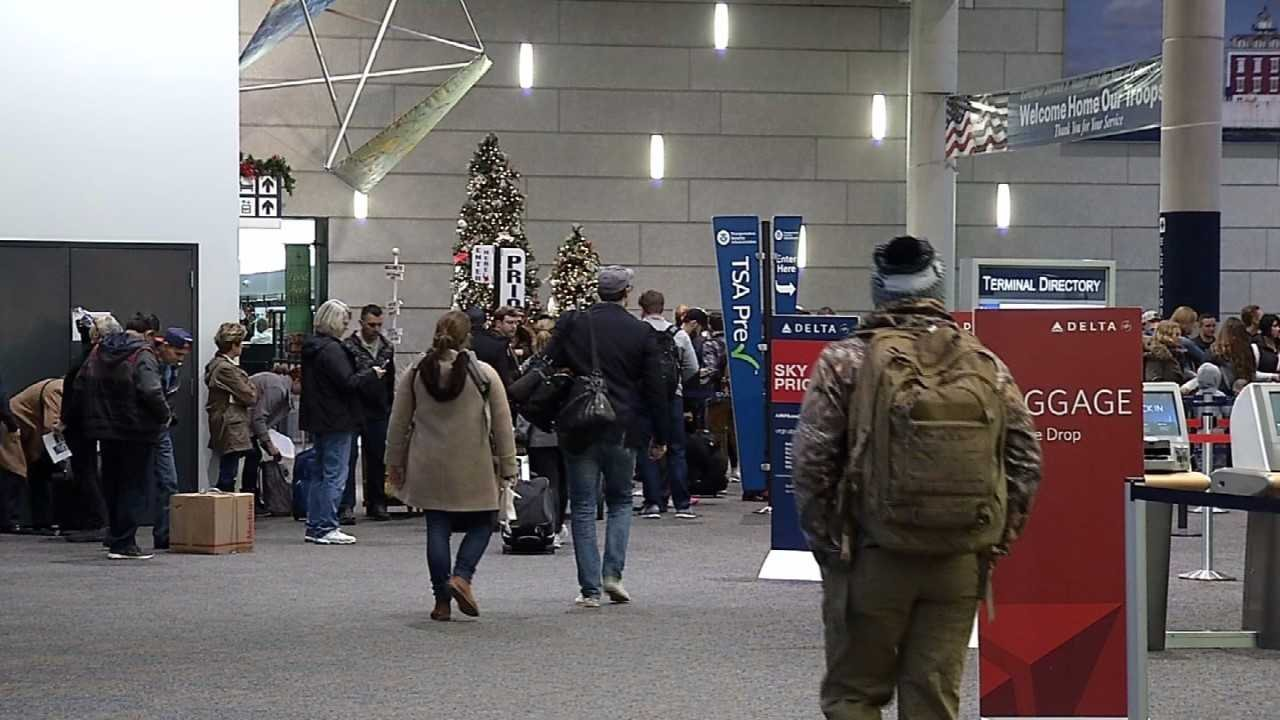 Millions of Americans traveled in record numbers this year for the Thanksgiving holiday and especially at airports as travelers looked to benefit from low air fares. (WFSB)