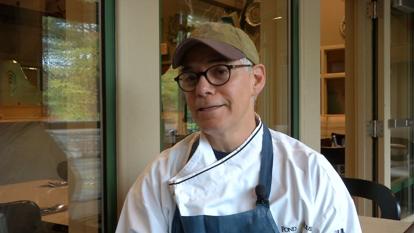 Louis Lista is running to raise money for an inmate culinary training program. (WFSB)