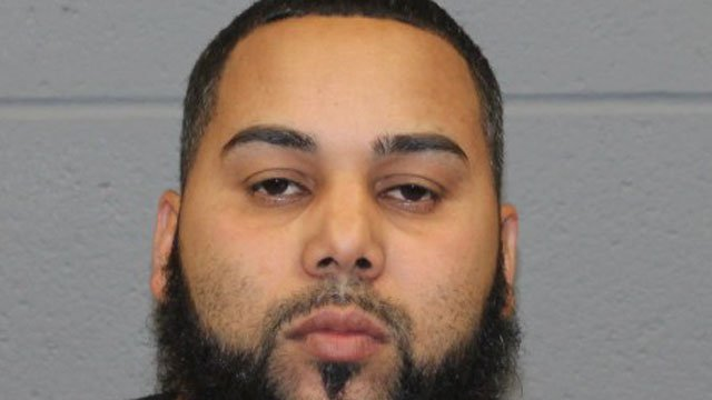 Police arrested Victor Collado Paez in the crash that killed a pedestrian in Waterbury on Sunday night. (Waterbury Police Department)
