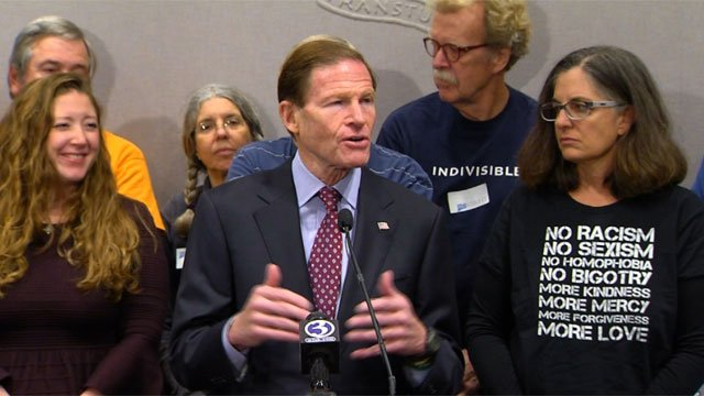 CT Lawmakers like Senator Richard Blumenthal, give their comments on the tax plan. (WFSB)