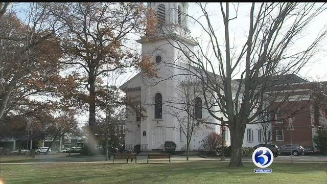 The bells are ringing at the First Congregational Church of West Haven. (WFSB)