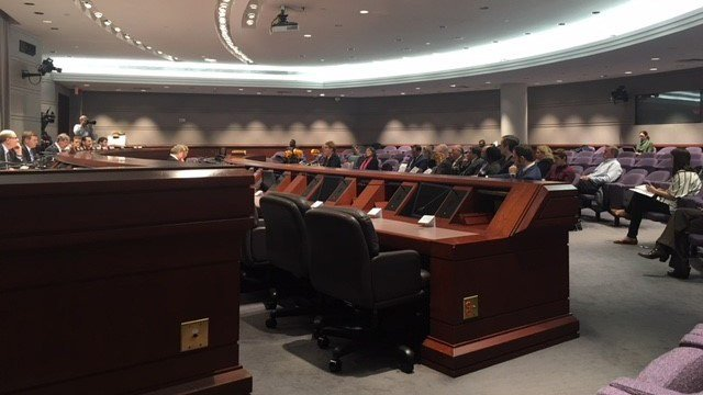 Lawmakers listened on Tuesday to Anthem and Hartford Healthcare representatives following a seven week dispute that affected hundreds of thousands of patients. (WFSB)