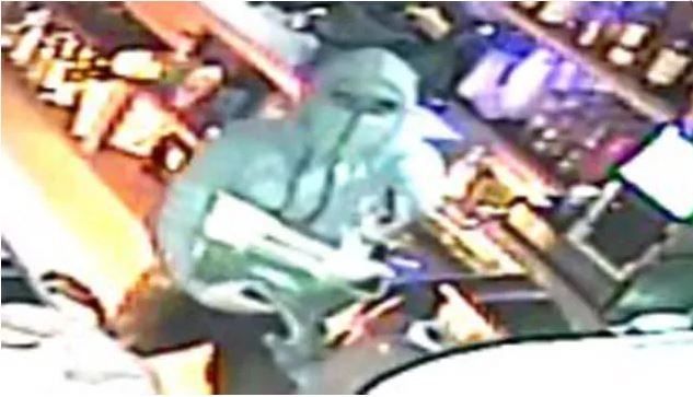 Surveillance video was released earlier this month of a suspect in the BAR shooting in Stratford. (Stratford police)