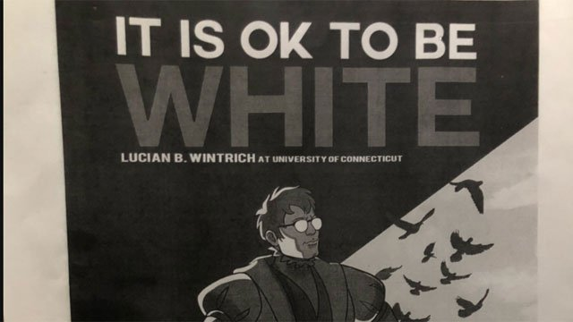 UConn's College Republican student group is sponsoring the appearance Tuesday evening by conservative commentator Lucian Wintrich. (WFSB)