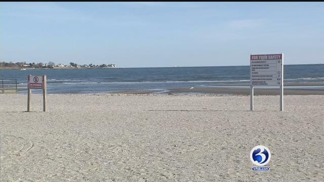 Improvements to a Milford state park is receiving state funding.  (WFSB file photo)
