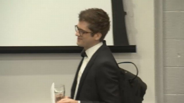 Lucian Wintrich spoke at UConn a few months ago, causing controversy  (WFSB)