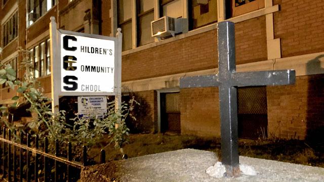 Children's Community School was closedWednesday. (WFSB)