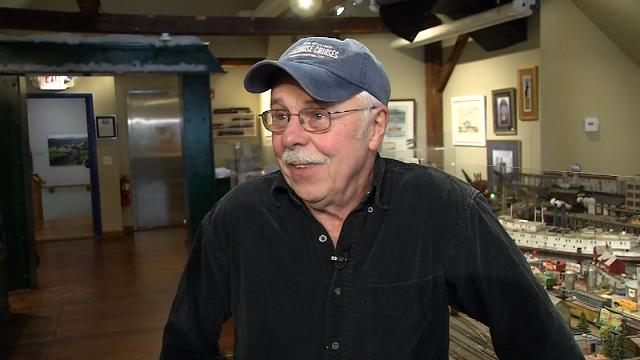 Artist and Model Railroad Train Master Steve Cryan (WFSB)