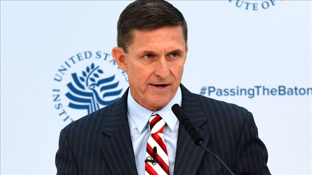 Former national security advisor Michael Flynn. (MGN/U.S. Institute of Peace)