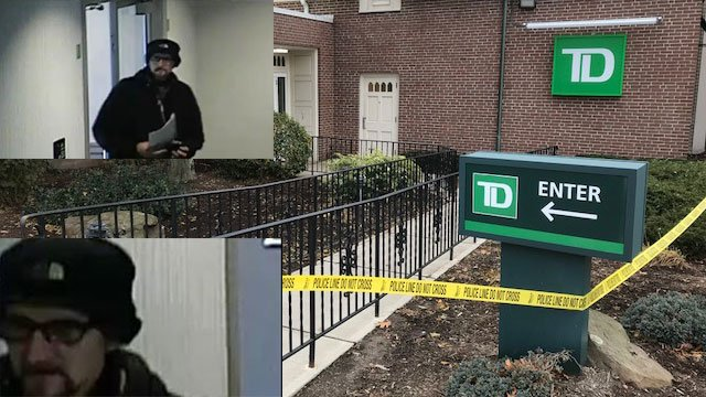 Police are investigating a robbery at TD Bank on Main Street on Friday. (WFSB)