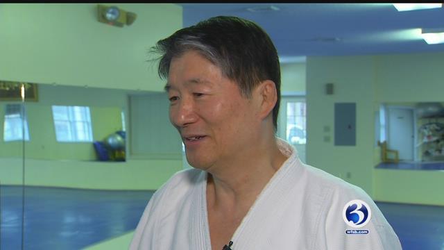 Master Chang Yu explains life in North Korea. (WFSB)