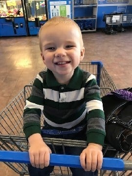 One-year-old Jacob Meeks of Middletown has been missing since November 29th. (Photo Courtesy of CT State Police)