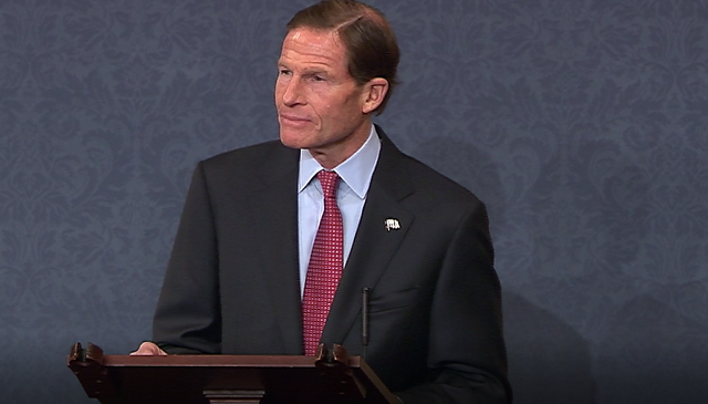 Sen. Richard Blumenthal. (WFSB file)