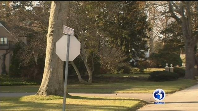 An elderly woman is recovering after being attacked by a dog on Hillside Road in New London (WFSB)