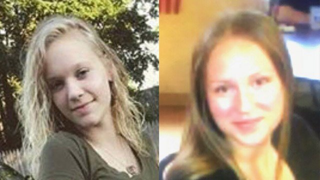 Alyssa Braddock and Jordan Edmonds were last seen on Monday at Naugatuck High School. (Naugatuck police)