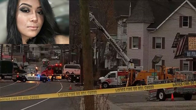 A 16-year-old girl was found to have been shot and killed when police responded to a crash scene in Waterbury on Monday night. (WFSB)