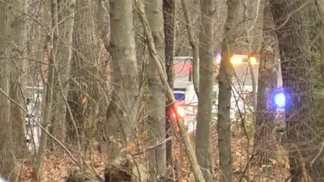 A woman died after she was hit by a train in Beacon Falls on Wednesday morning. (WFSB)