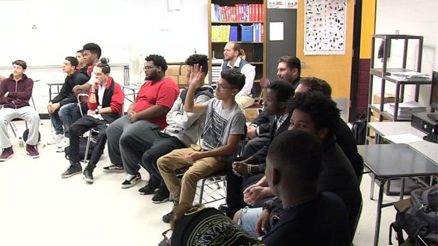 Man Up program helps young men in New Britain. (WFSB)