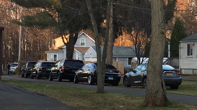 Three people have been arrested in connection with a drug raid at a home in Newington on Thursday morning. (WFSB)