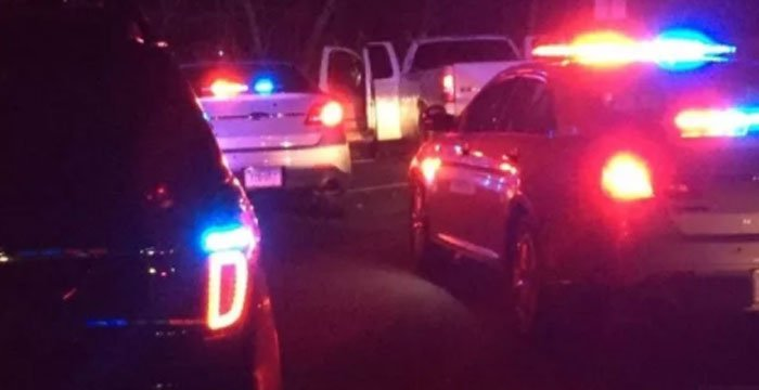 A pursuit on Friday evening spanned four towns before Old Saybrook police were able to stop the car. (CT State Police)