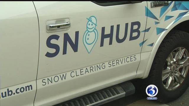 An app is helping you get your driveway cleared of snow. (WFSB)