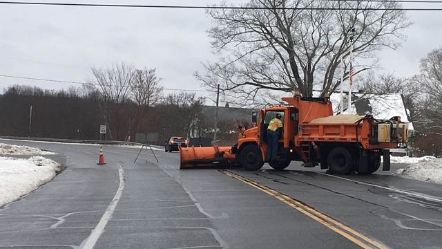Life-threatening injuries were reported in a Route 6 crash in Chaplin on Tuesday morning. (WFSB)