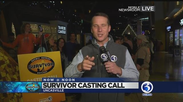 VIDEO: Casting Call for Survivor held today at Mohegan Sun