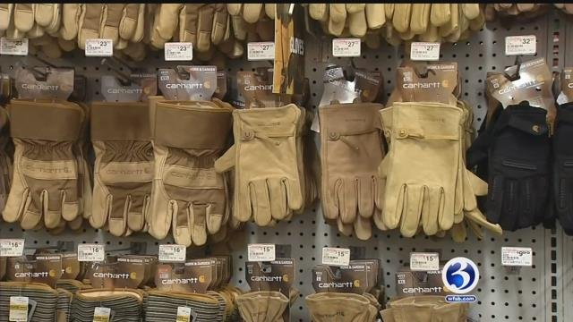 Those who work outside were taking precautions to stay warm in the bitter cold (WFSB)