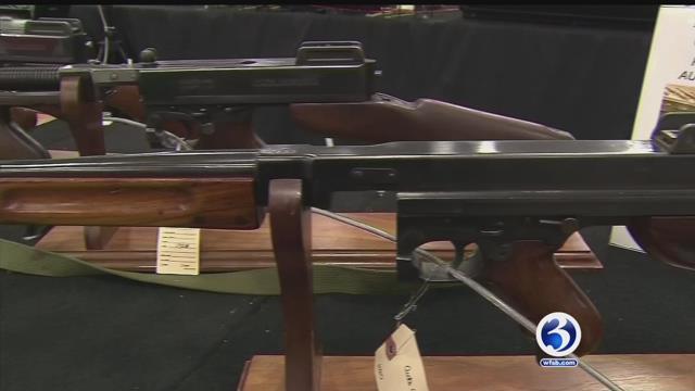 A gun buyback program will be held in Hartford on Saturday. (WFSB file photo)