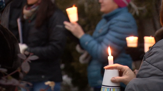 A vigil was held in Hartford in honor of those who have lost their lives to gun violence. (WFSB)