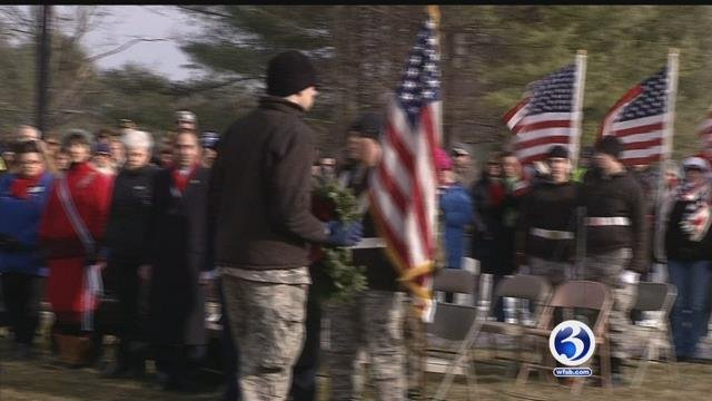 VIDEO:Thousands of wreaths to be laid on grave sites of CT service men and women
