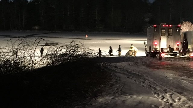 The search headed up by several agencies for a missing snow mobile driver in Griswold is now a recovery mission.(WFSB)