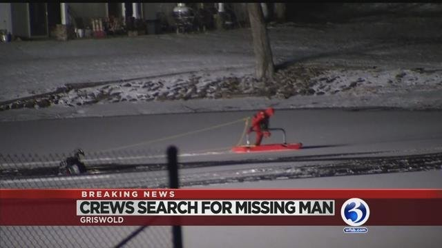 VIDEO: Search for missing snowmobile driver turns to recovery mission