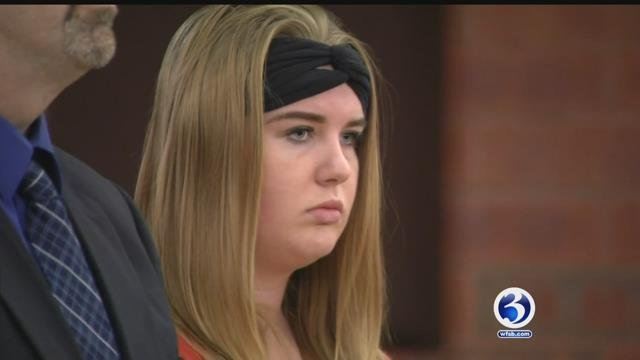 Brianna Brochu during a previous court appearance. (WFSB file photo)