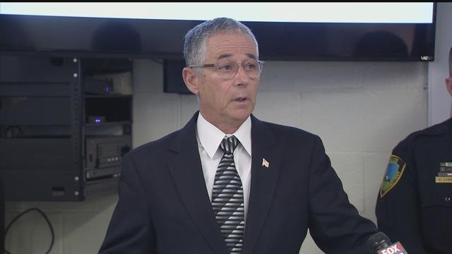 East Haven Mayor Joe Maturo announced the end of a racial profiling investigation involving the police department on Monday. (WFSB)