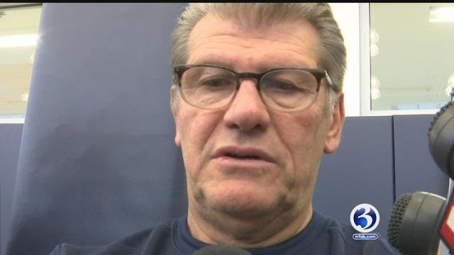 UConn Coach Geno Auriemma and his team will be thrust into the national spotlight again on Tuesday night. (WFSB)