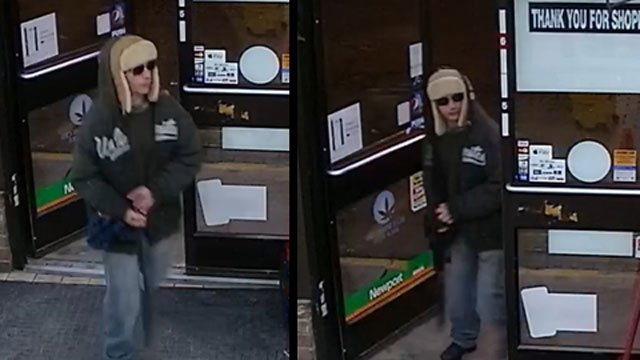 Police released this photo of the man who robbed a 24/7 Express with a machete on Monday. (Stratford Police Department)