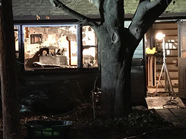 One woman was injured in a fire late Tuesday night in Bristol (WFSB).