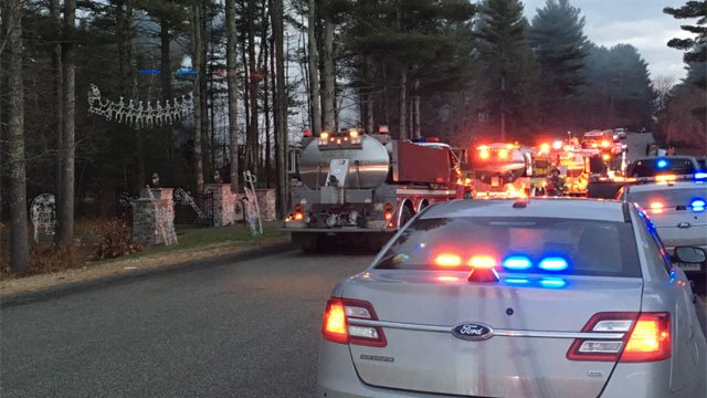 Tankers were on the scene of a deadly house fire in Griswold back in December. (WFSB)