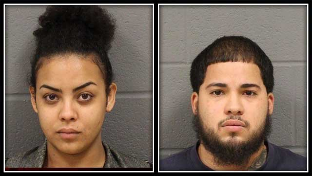 New Britain police have charged these two people with cruelty to animal (New Britain Police)