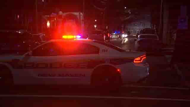 A 55-year-old woman was shot on Thursday night in New Haven (WFSB)