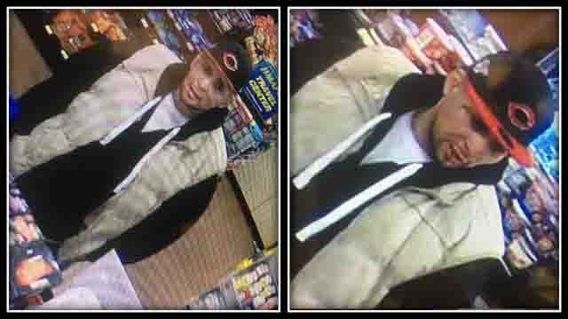Police are searching for this man accused in a robbery and threatening situation (CT State Police)