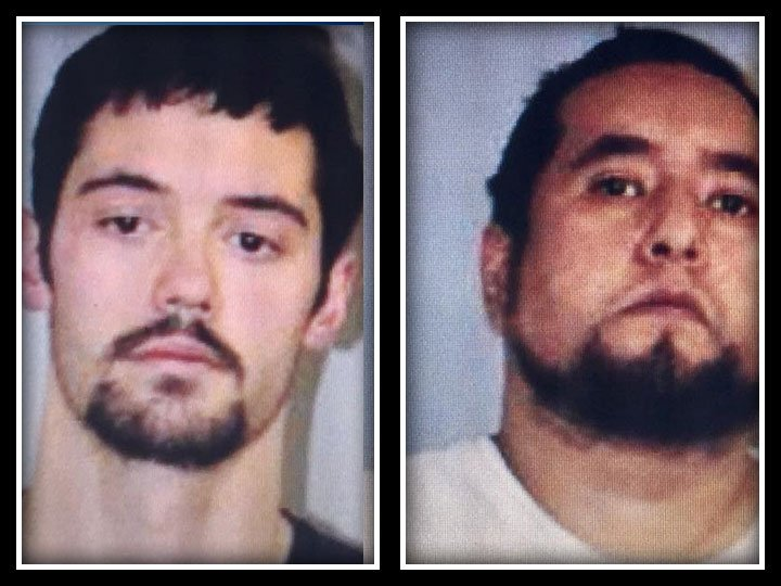 Benjamin Bellavance and Adrian Flores were arrested in connection of a Woodstock home invasion. (CT State Police)