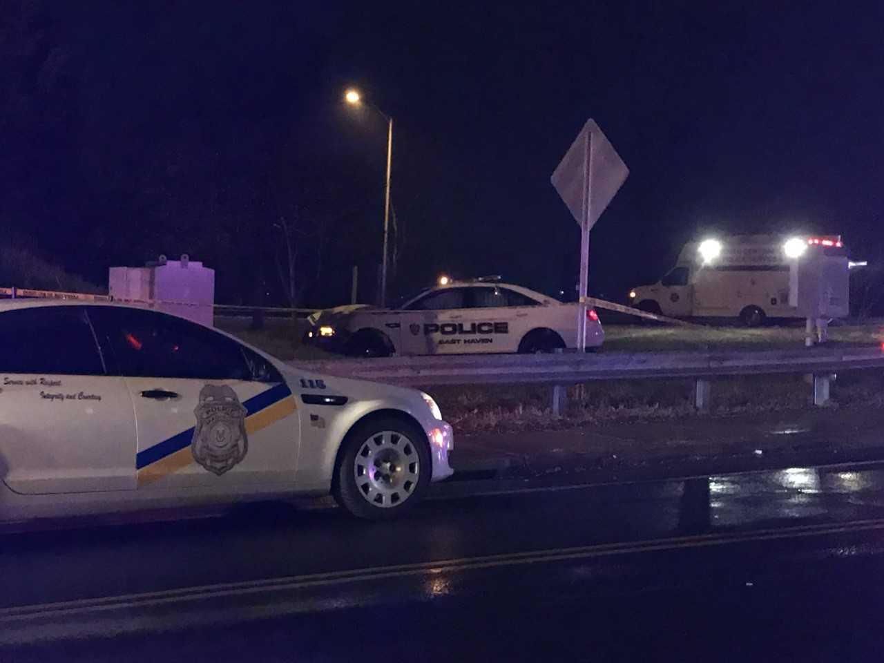 East Haven Officer Involved In Crash On I-95 On-Ramp